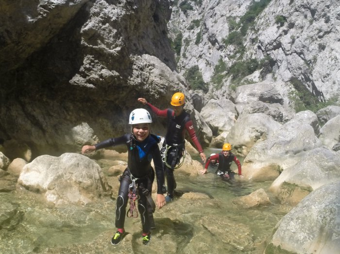 découverte canyoning Gorges Galamus