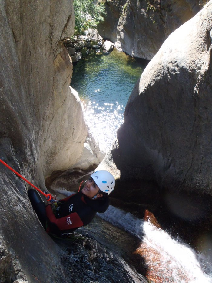 canyoning Céret 66 Gourg des Anelles