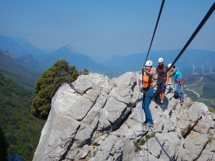 canyoning escalade via-ferrata