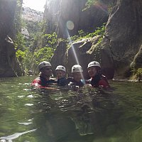 Canyoning Initiation en famille