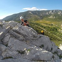 Via ferrata - saint paul de fenouillet - la pichona