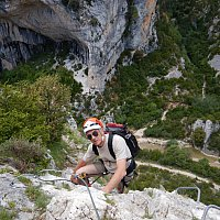 Escalade canyoning via ferrata Sierra de Guara