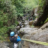 Canyoning en Hiver