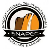 Syndicat NAtional des Professionnels de l'Escalade et du Canyon : http://www.snapec.org/
