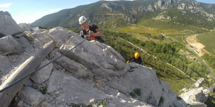"Via Ferrata ""Pitchouna"""